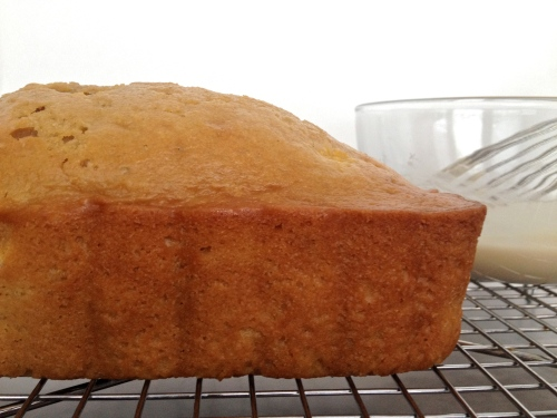 Peach Bourbon Bread