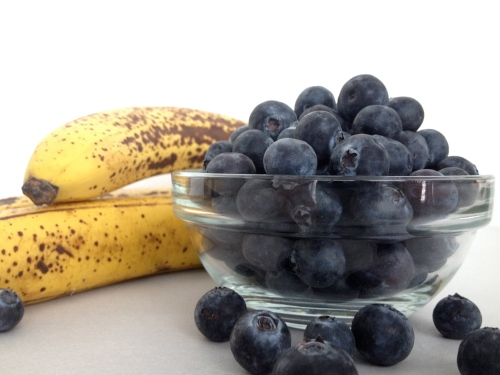 Bananas and Blueberries