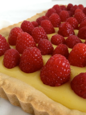 Meyer Lemon Tart with Sugar Cookie Crust