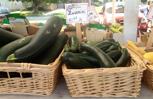 Farm Stand Zucchini