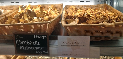 Eataly Mushrooms