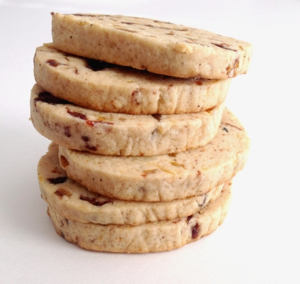 Fruit Cake Tea Cookies